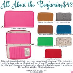 All About the Benjamins by Thirty-One. Fall/Winter 2016. Click to order. Join my VIP Facebook Page at https://www.facebook.com/groups/1603655576518592/