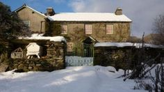 Beatrix Potter's home in the Lake District...Hill Top.