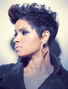 val warner hairstyle | Pinned by Mokah Brown