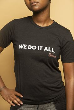 This t-shirt represents women EVERYWHERE. We all have many things on our plates at all times, and we take care of everyone. It's made of thicker, heavier cotton, but it's still soft and comfy. (This is Unisex, order one size down from your original for a snug fit!) • 100% ring-spun cotton • Sport Grey is 90% ring-spun cotton, 10% polyester • Dark Heather is 65% polyester, 35% cotton • 4.5 oz/y² (153 g/m²) • Pre-shrunk • Shoulder-to-shoulder taping • Quarter-turned to avoid crease down the center Diy Best Friend Gifts, Diy Gifts For Girlfriend, Diy Gifts For Mom, Diy Holiday Gifts, Gifts For Her, Shoulder Taping, Snug Fit, Spun Cotton, Comfy