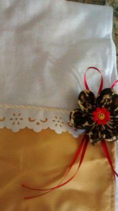 Caramelo c/ flor de oncinha