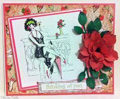 Frou Frou by Sheena Douglass, Artist Card, Frou Frou, Crafters Companion, Serif, Paper Crafting, Cardmaking, Albums, Card Ideas