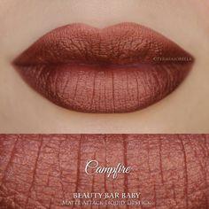 Campfire Liquid Lipstick Matte Attack Liquid by BeautyBarBaby