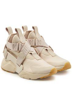 wholesale dealer 1dea9 0c761 Nike Air Hurarache Sneakers with Leather