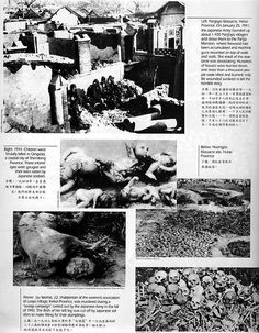 Japan's dream to conquer the world started with the massacre/rapes/evil experiments in China and other Asian countries followed by bombing in Pearl Harbour and Canada.