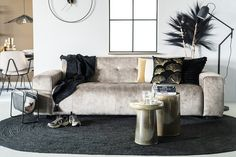 Couch, Throw Pillows, Photo And Video, Bed, Interior, Furniture, Instagram, Home Decor, Latte