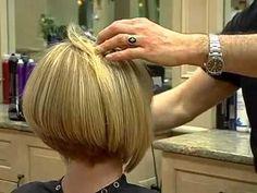 Line Bob Haircuts Back View