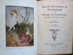 Alice in Wonderland & Through The Looking Glass. Lewis Carroll. Illustrated by Milo Winter. Rand McNally & Co - Chicago. 1916.