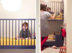 Modern baby bunk beds @jordanferney #modernnursery #summerinthecity