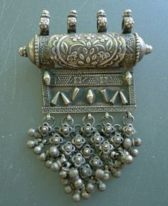 India | Silver pendant from Rajasthan | 329$