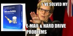 Kathleen Wynne solves email and Hard Drive Problems