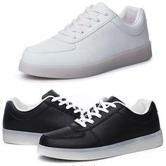 3b2dfeb475e16 LED Men s and Women s Walking Shoes
