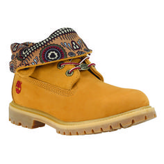 TIMBERLAND 2014 Q3 WOMEN Authentics Roll-Top Boots Rugged Shoes 8259A Wheat e3439942384