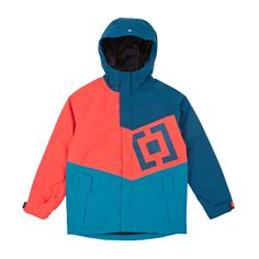 Horsefeathers Memphis Kids Snow Jacket - Firewater | Free Delivery