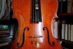 My Cello Necklace & Cello. :)