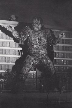 Gaira in the spotlight from War of the Gargantuas.