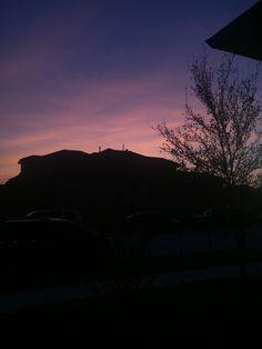Sky Landscape, Purple Sky, Sunset Sky, Melancholy, Landscapes, Blessed, Heaven, Clouds, Wallpapers