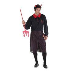 Disfraz Adulto Colegial Diabolico