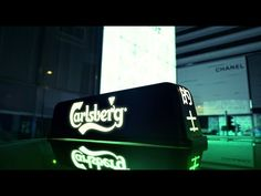 Probably the best taxi experience in the world! #carlsberg #taxi #advertising