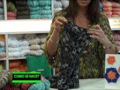 Saco hexágono en crochet - YouTube