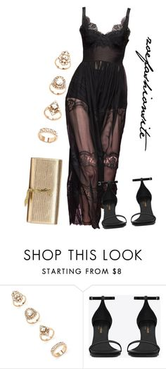 """Untitled #135"" by zoefashionsite on Polyvore featuring Forever 21 and Yves Saint Laurent"