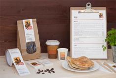 cafe menu design