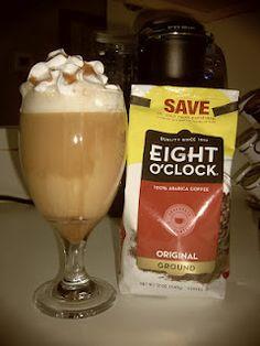 Recipe for Caramel Coffee drink w/Eight O'Clock Coffee!