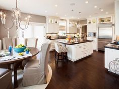 Transitional Kitchens from Kristin Kong on HGTV...I LOVE THIS