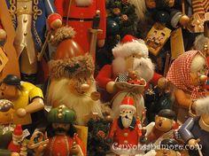 Nutcrackers at the Christmas Market in Kiel, Germany