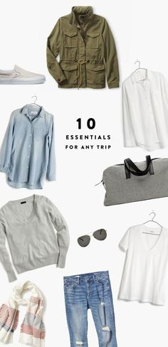 The 10 Essential Items You Should ALWAYS Pack | The Fresh Exchange: