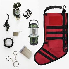 Buy Tactical Christmas Stocking Bundle (Red) by National Parks Depot on OpenSky