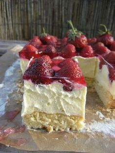 recipes recipes recipes keto recipes show recipes recipes recipes pot recipes Polish Desserts, Polish Recipes, Cookie Desserts, No Bake Desserts, Delicious Desserts, Just Desserts, Polish Food, Oven Recipes, Cream Recipes