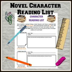 Novel character reading list. What would a novel character read and review? Ponyboy would still be reading Robert Frost I am sure!