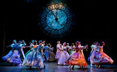 Cinderella on Broadway- amazing show! They used the clock to show the night going by- genius! :D