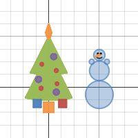 Сообщество учителей Intel Education Galaxy -> Анимированные объекты в Desmos. Как заставить снежинку мерцать?