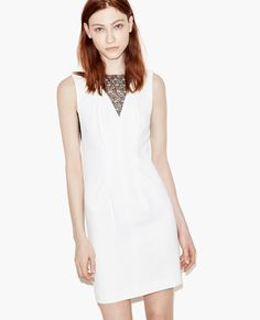 THE KOOPLES - Dress with Lace Details - Dresses