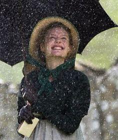 Emma in the rain, Romola Garai, 2009