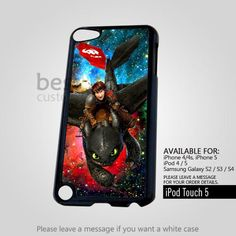 AJ 4163 How to train your dragon Hiccup and Toothless for iPod 5 Case | BestCover - Accessories on ArtFire