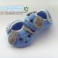 大耳狗宝宝鞋的织法   大耳狗宝宝鞋的钩法视频