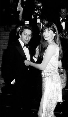 Jane Birkin and Serge Gainsbour