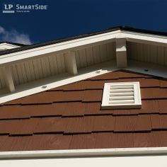 Get An Up Close Look At Lp Smartside Cedar Shakes The Trim And Fascia