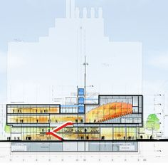 Renzo Piano Building Workshop - Manhattanville Academic Conference Center / New York, U.S.A