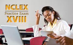 NCLEX Practice Exam XVIII. #Nurse #NCLEX #Practice