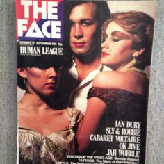 """karateboogaloo:  #theface #humanleague #dontyouwantme #80s #eighties #eightiesfashion  """