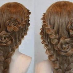Here's a beautiful hairstyle idea for those of you with long hair… a pair of lace braid roses! I knew you guys would be begging for a tutorial on this one so I did some digging and discovered this post from Princess Hairstyles that gives a complete list of accessories you'll require and...