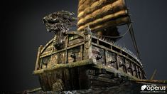 The Art of Operus - The portfolio of Character Artist, Rafael Operus de los Reyes from the Philippines Turtle Ship, Korean Tattoos, Railroad Photography, Photorealism, Shipwreck, 3d Character, Military History, Statue, World