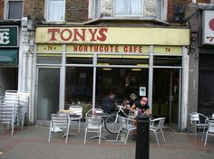 heh tony, Northcote road , Battersea, London. an island of working class in the middle of yummy mummy, nappy valley ya ya