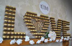 Ferrero Love Stand Wedding Hire - Perfect Alternative to a Candy Cart Wedding Hire, Wedding Catering, Candy Cart, Ferrero Rocher, Catering Services, Candy Table, Belfast, Northern Ireland, Alternative