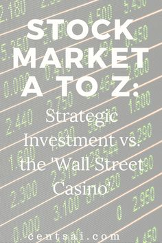 Stock Market A to Z: How to Start Investing in Stocks for Beginners