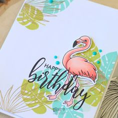 Stamp Away With Me: DIY Patterned Paper with Tropic Fever + Winner